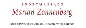 Logo sportmasseuse Marian Zonnenberg te Nijmegen