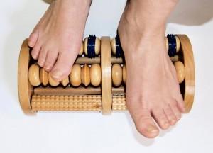 Met dit massageproduct kunt u uzelf thuis een voetmassage geven ©Marem - Fotolia