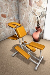 Bij stoelmassage zijn geen hulpmiddelen nodig en een stoelmassage kan snel ter plekke gegeven worden ©Bertold Werkmann - Fotolia